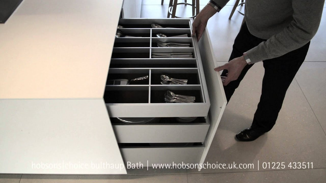 bulthaup b3 drawer with pullouts