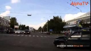 Rosja - wypadek i samochód widmo