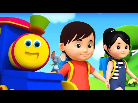 My Best Friends | Bob the Train Cartoons | Nursery Rhymes & Kids Songs