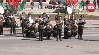 Оркестр на юбилей бригады в Слониме сыграл Lady Gaga - Bad Romance