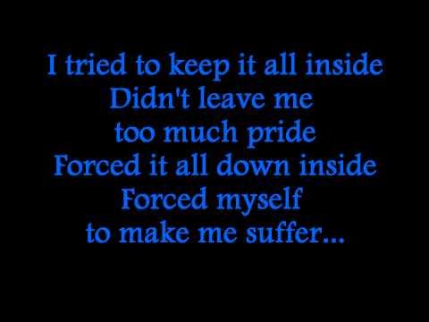 Staind - Suffer (Lyrics)