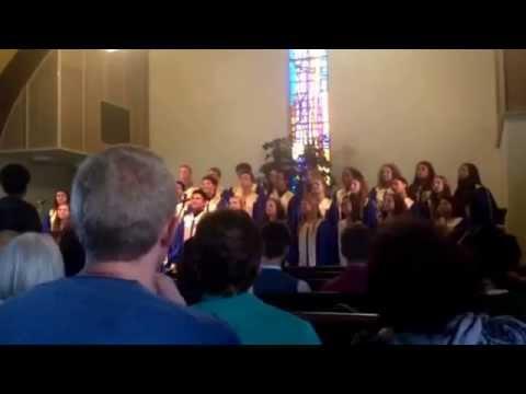 Gospel Choir Portland Adventist Academy (music tour in San Diego, CA)