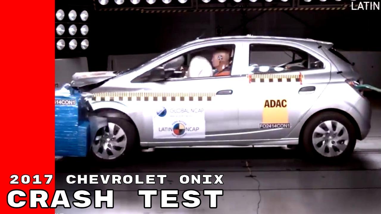 2017 Chevrolet Onix Crash Test Youtube