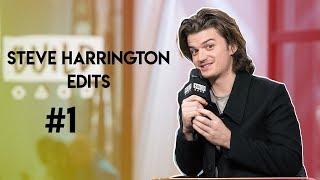 Steve Harrington (Joe Keery) Edits #1
