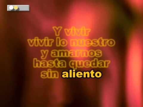 Marc Anthony Vivir Lo Nuestro Karaoke