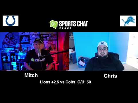 Indianapolis Colts at Detroit Lions Saints Sunday 11/1/20 NFL Picks & Predictions Week 8