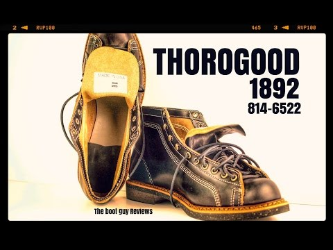 THOROGOOD 1892 PORTAGE Series #814-6522 [ THE BOOT GUY REVIEWS ]