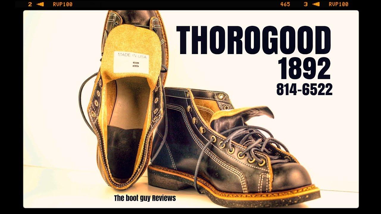 851edfa6eb4 THOROGOOD 1892 PORTAGE Series #814-6522 [ THE BOOT GUY REVIEWS ]