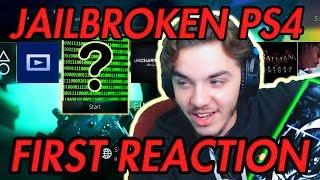 JAILBROKEN PS4! First Impressions PlayStation 4 Jailbreak
