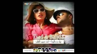 زياد برجي و داليدا خليل انت حبيب القلب / Ziad Borji Feat. Dalida Khalil - Enta Habib El Alb