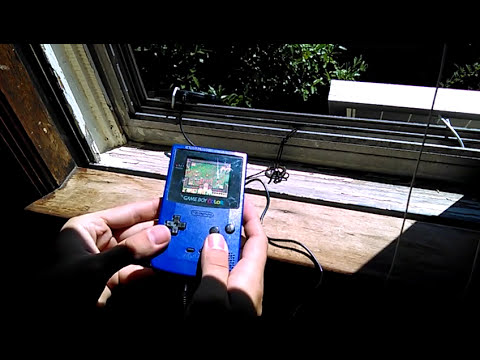 Gaming with Solar Energy!
