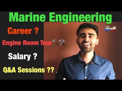 How To Become A Marine Engineer | Career | Salary | Engineering