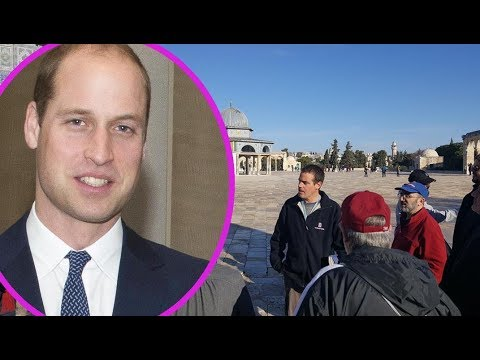 Prince William will become first major British royal to visit Palestinian Territories