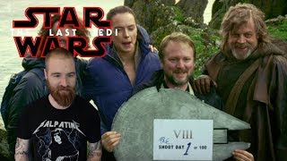 The Last Jedi D23 Behind The Scenes Reel Reaction
