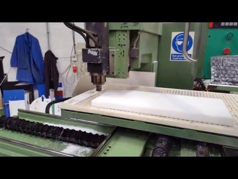 CNC Machining of High Density Polyethylene