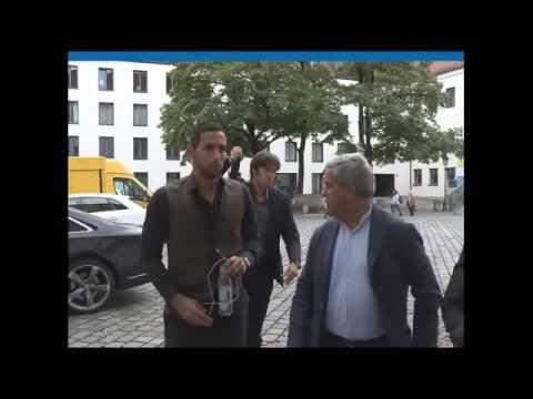 Mehdi Benatia arrives in Munich to have his medical