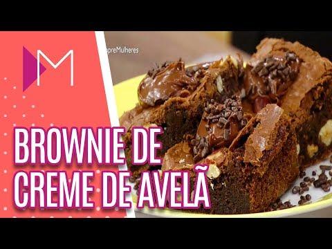 Brownie de creme de avelã - Mulheres (20/04/18)