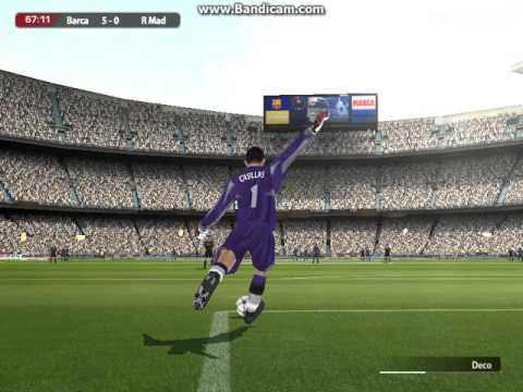 FIFA  2005   Barcelona  Vs  Real  Madrid  Frendly  Match  ( SECOND HALF)