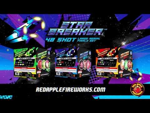 Star Breaker 48 Shot Large Aerial Finale Set | R-6488