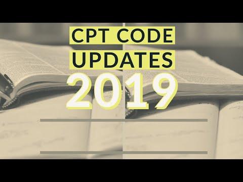 2019 CPT Code Updates