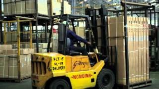 Godrej award winning 1.6 tonne 3 wheel Electric Forklift truck