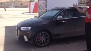 Audi RS Q3 Acceleration