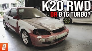 Building & Heavily Modifying a 1999 Honda Civic EK Hatchback -- Part 1