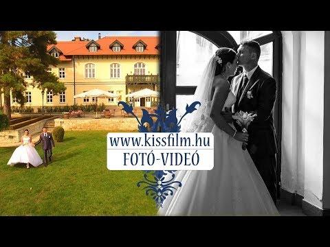 Brigitta és Péter esküvői fotózása (Gróf Degenfeld Kastélyszálló)