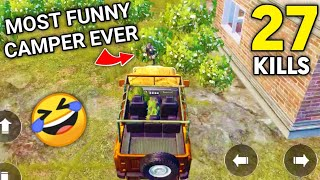 Most Funny Camper Ever In PUBG Mobile