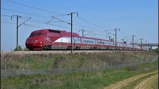 High-speed trains TGV - Thalys…