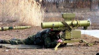"""ПТРК """"Стугна-П"""" испарил грузовики сепаров с боеприпасами."""