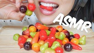 ASMR Thai Delicate DESSERT ขนมลูกชุบ (SOFT EATING SOUNDS) NO TALKING | SAS-ASMR