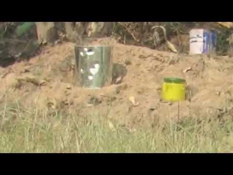 ปืนอัดลมเบอร์2 Hatsan 125 th ยิงกระป๋องกาว ระยะ 100 เมตร Part 1