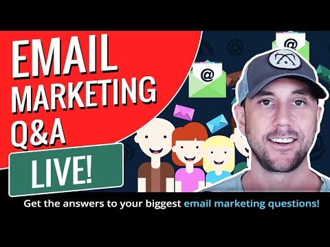 Email Marketing Q&A - Live!  Get the answers to your biggest email marketing questions! thumbnail