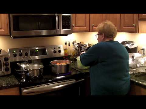 Mama Lombardo's Chicken Soup - Cooking with Mama Lombardo- Episode 17