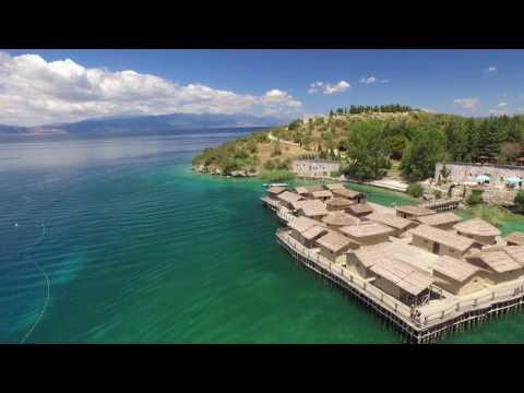 Drone View-Ohrid Macedonia