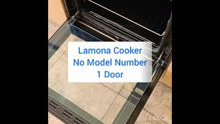 Cooker Door Removal Glass Removal Lamona Cooker Step by Step How to Guide for Cleaning or replacing