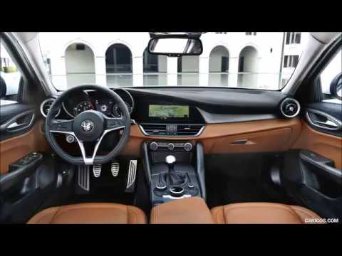 2017 alfa romeo giulia quadrifoglio interior youtube for Alfa romeo 159 interieur