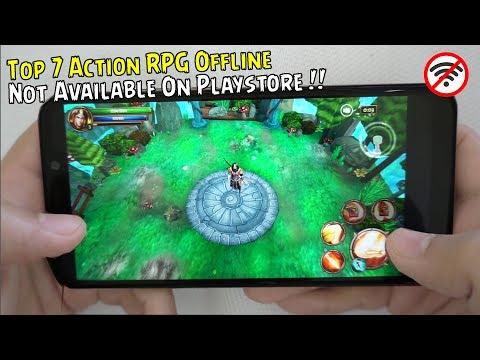 Top 7 Best Action RPG Offline Not Available On Playstore !!