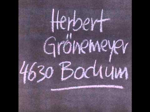 Herbert Grönemeyer - Bochum