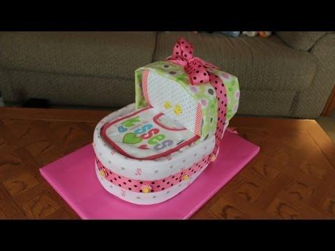 Inet Diaper Cake How To Make