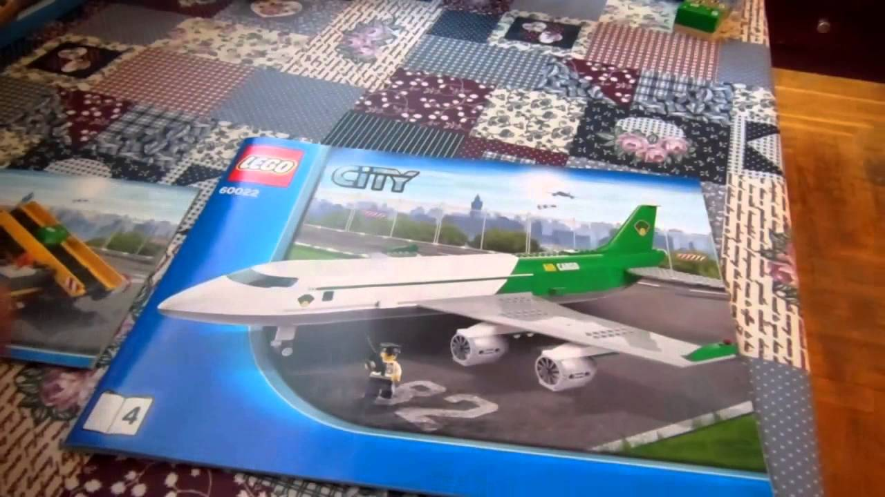 LEGO City Грузовой Терминал 60022 - CARGO TERMINAL #1 - YouTube