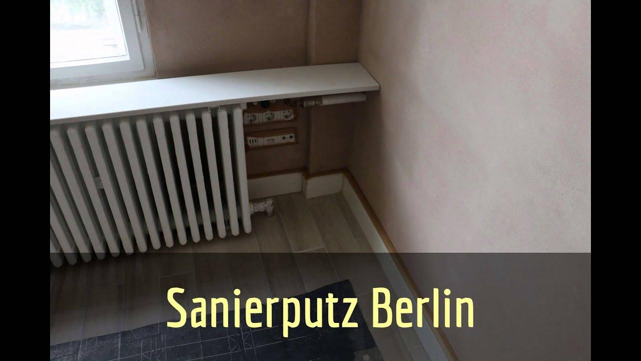 Sanierputz Berlin Sanierputz Innen Aussen Youtube