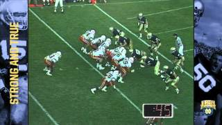 1988 vs. Miami - The Play - 125 Years of Notre Dame Football - Moment #043