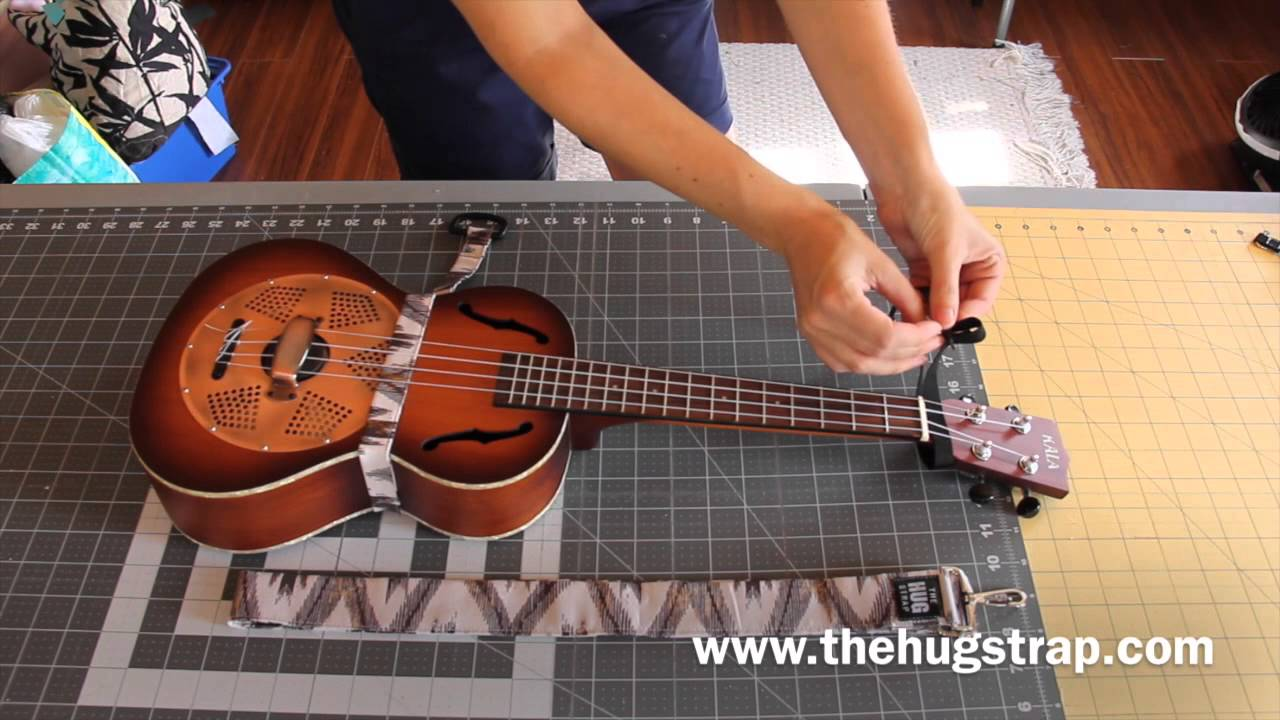 The Hug Strap Handmade Ukulele Strap Tutorial Youtube