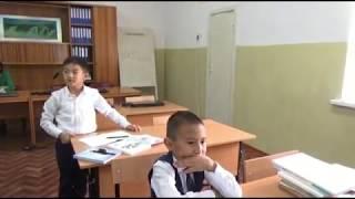 Урок русского языка в 3-классе.