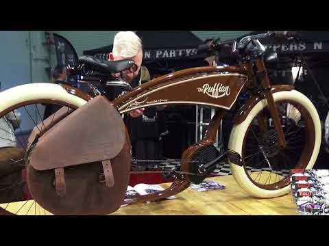 Ruff Cycles The Ruffian Cruiser E-Bike Bosch Deutsche Custom Bikes Marke Fahrrad Custom Pedelec