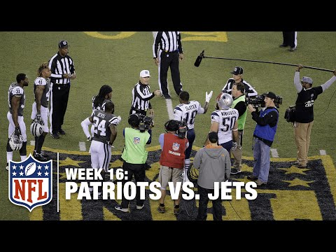 Patriots-Jets Coin Toss Confusion In OT | Patriots vs. Jets | NFL
