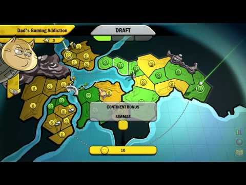 DGA Plays: RISK: Factions (Ep. 5 - Gameplay / Let's Play) |