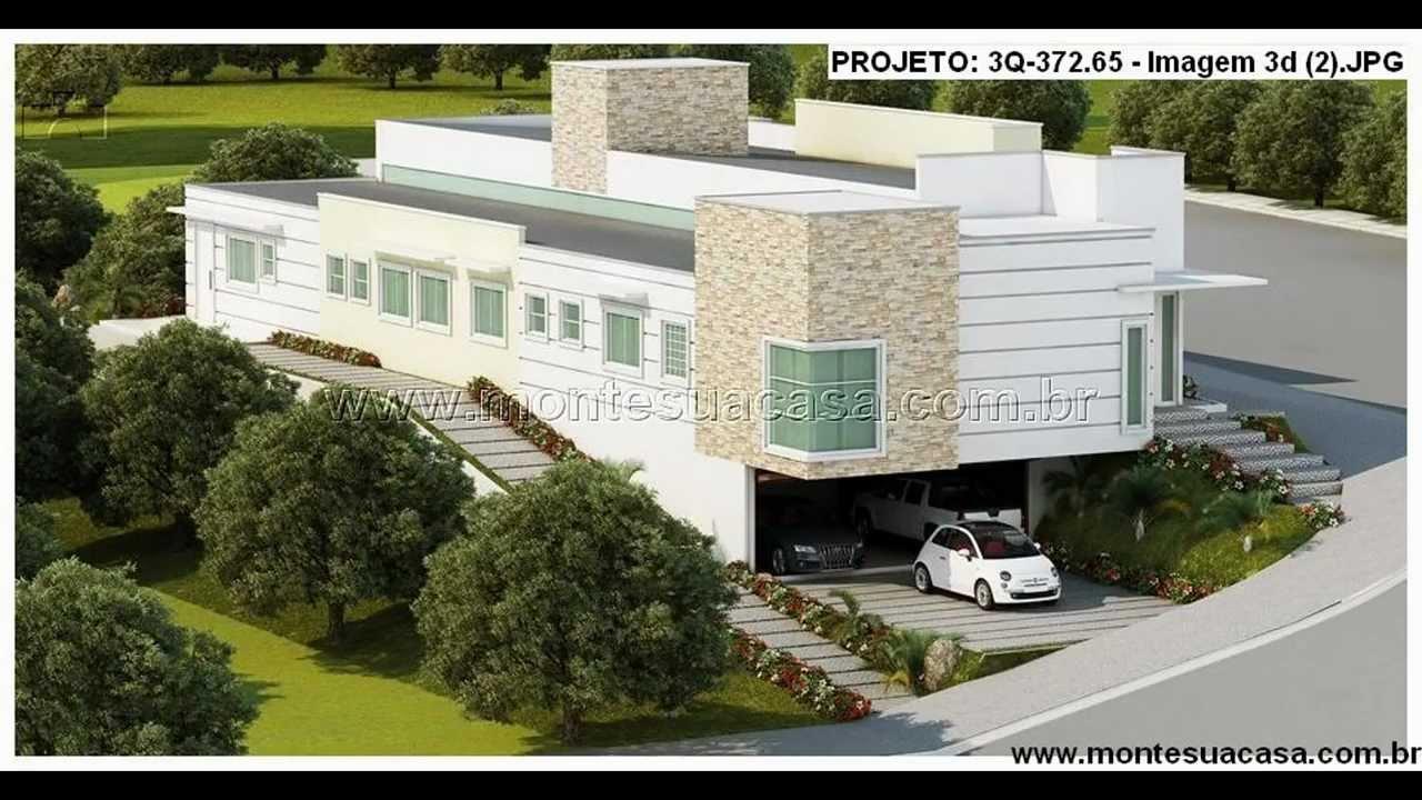 Fachadas de casas youtube for Fachadas de casas modernas de 2 quartos
